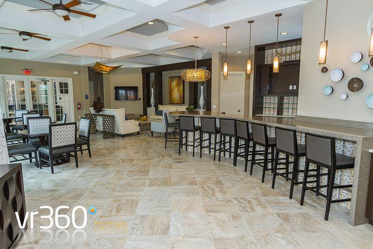 Solterra Resort, Davenport, Florida - Clubhouse Lounge Area. http://www.vr360homes.com/north-america/florida/disney-orlando-villas/solterra-resort/