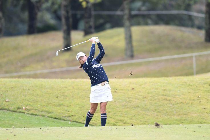 ノーボギーの原江里菜が好位置で最終日に|LPGA|日本女子プロゴルフ協会