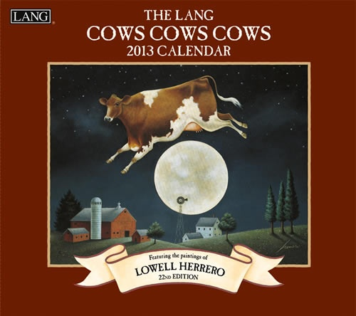 Buy Lang Cows Cows Cows 2013 Calendar online at Megacalendars Lowell Herrero s 22nd Edition.  http://www.megacalendars.com/Lang-Cows-Cows-Cows-2013-Calendar-1001569_p_13540.html