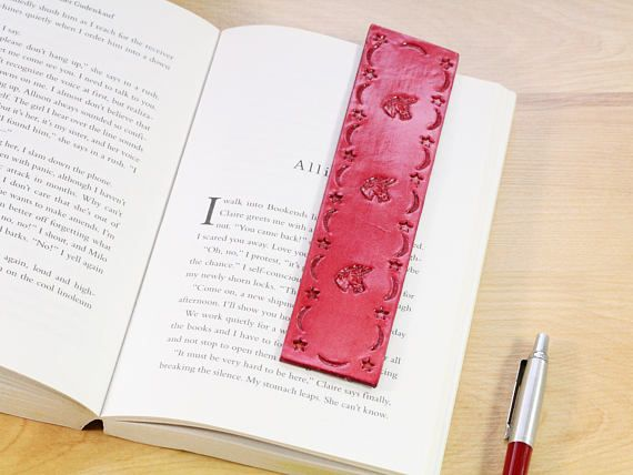 Unicorn Bookmark, Leather Bookmark, Unicorn Gift Ideas. Repin To Remember.