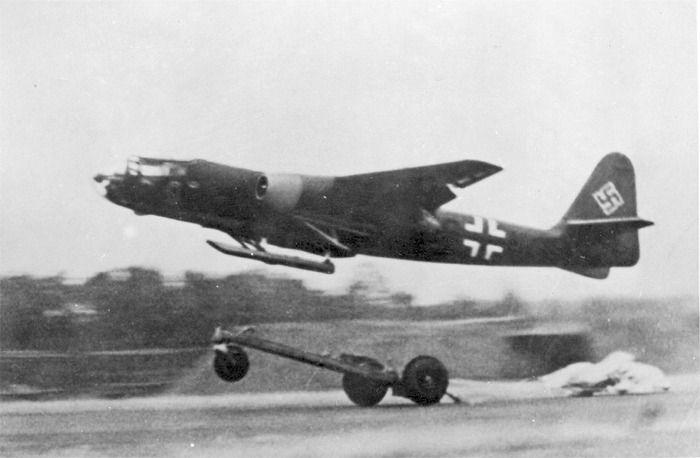 Arado Ar 234 bomber #Luftwaffe #Wehrmacht