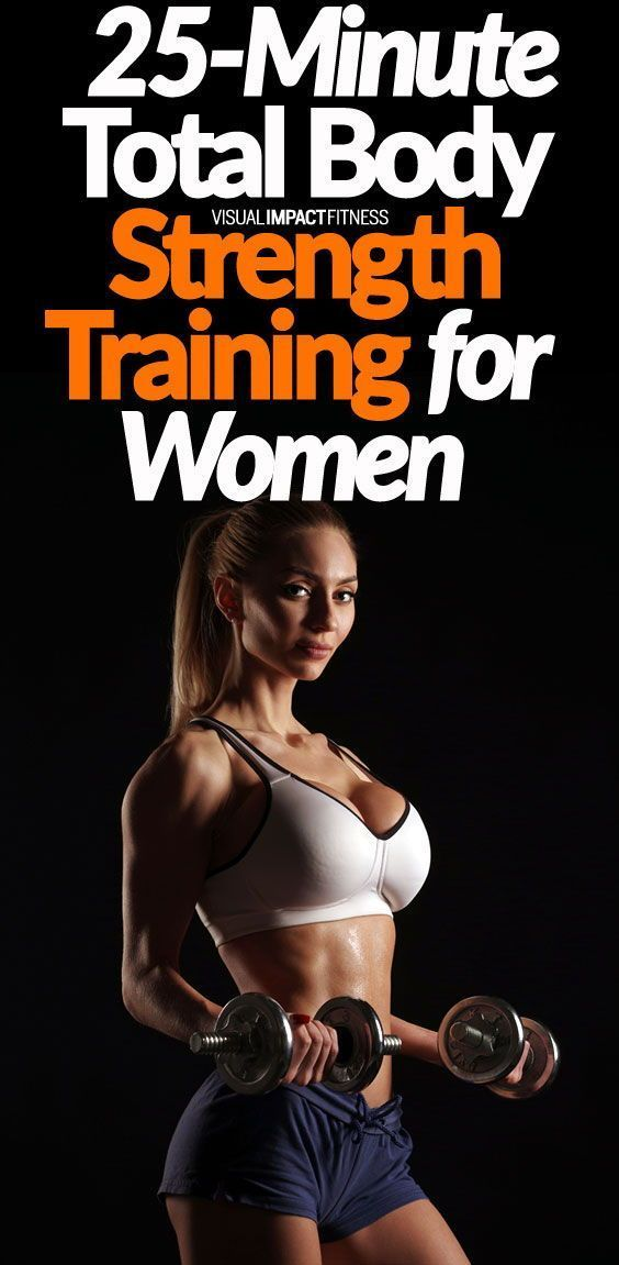 25-Minute Total Body Strength Training for Women