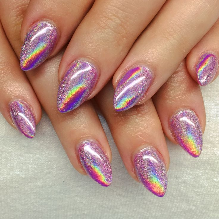 Chrome Nail Powder Cnd: CND Shellac Future Fushia And Lecente Rainbow Chrome