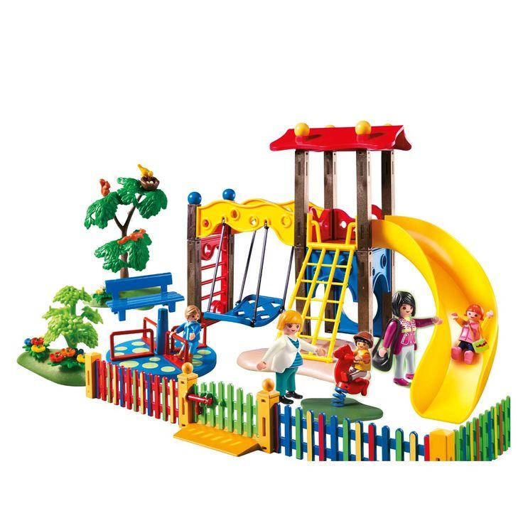 5568 Square pour enfants avec jeux Playmobil pour enfant de 4 ans à 10 ans - Oxybul éveil et ...