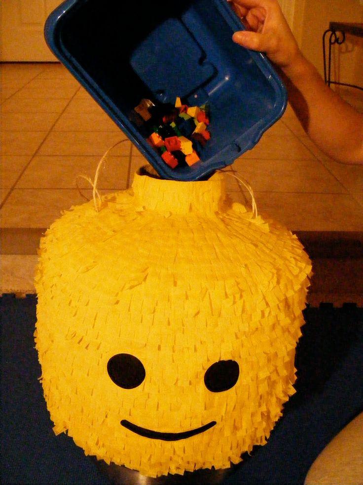 Crafty Party Ideas: Lego Birthday Party