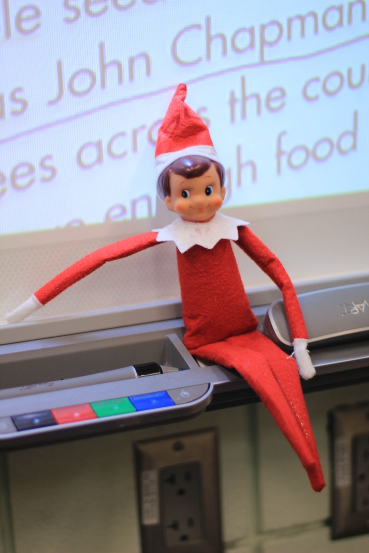 Classroom Elf Ideas ~ Classroom elf on the shelf ideas