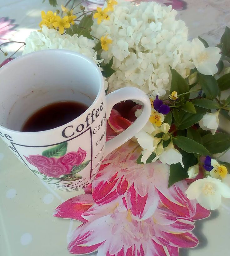 Καλημέρα! Χρόνια πολλά στον Γιώργο και στην Γεωργία και στην μαμά! #diaryofabeautyaddict #coffee #elbeautythings #greekblogger #goodmorning #haveaniceday #greekcoffee