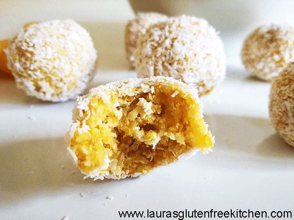 These Gluten free Apricot Coconut Energy Bites are 4 ingredient energy bites that make the perfect healthy snack after a workout or any time of day!