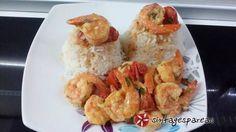Γαρίδες σκορδάτες με ρύζι #cookpadgreece