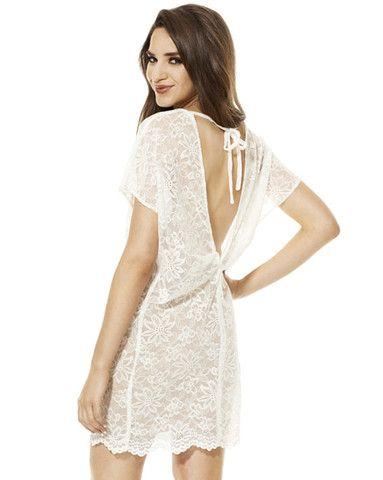 Adelaide Ivory Lace Dress from Velvet Moon