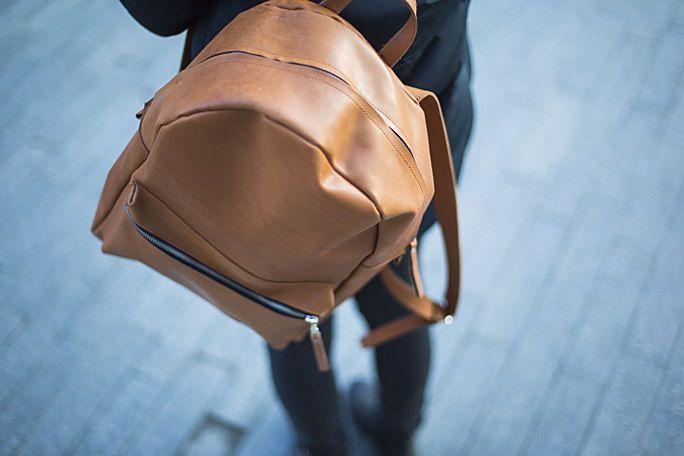 Рюкзак из натуральной кожи от EFED