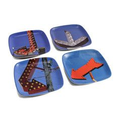 Red Arrows Coaster Set, $20, now featured on Fab.