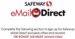 safeway-email-direct-100-bonus-air-miles