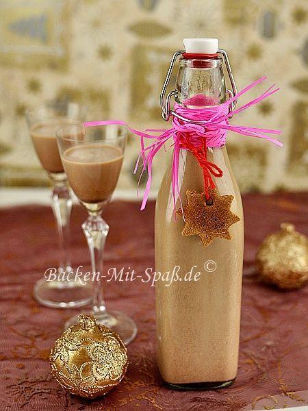 250ml brauner Rum 2 EL  Nutella oder andere Nuss-Nougat-Creme (80g) 500ml Schlagsahne 3 gestrichene TL Lebkuchengewürz 100g Puderzucker