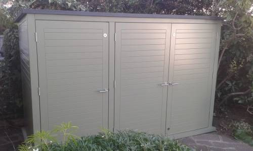 Large Bike Shed With EPDM Roof