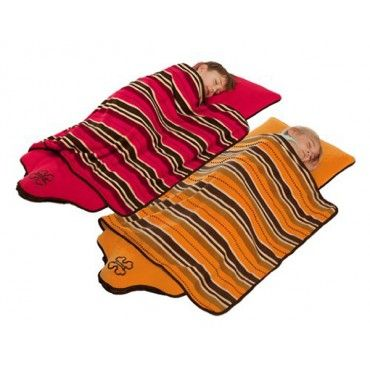 the Shrunks Stepaire Bandit Nap Pad - 1 inch inflatable nap pad with built-in pump.