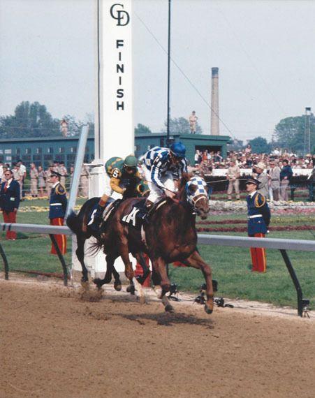 SECRETARIAT & RON TURCOTTE -ORIGINAL 1973 KENTUCKY DERBY FINISH LINE 8X10 PHOTO! in Sports Mem, Cards & Fan Shop, Fan Apparel & Souvenirs, Horse Racing | eBay