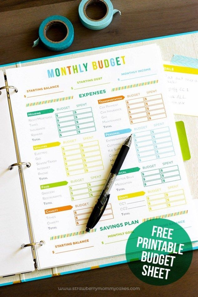 20 Free Budget Printables You Need To Use In 2019