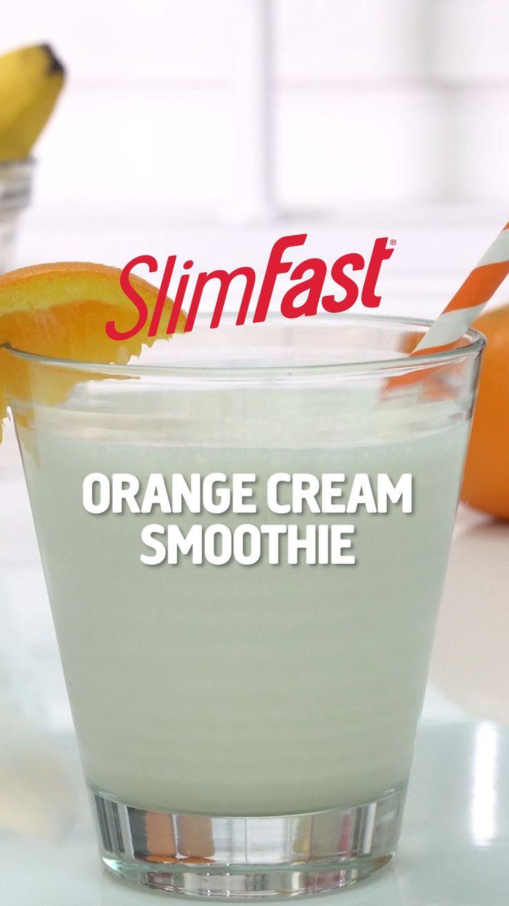 Orange Cream Smoothie   SlimFast
