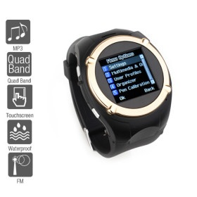 Sports Style – 1.5 Inch Watch Cell Phone (FM, Quadband, MP3 MP4 Player)    Whole Sale