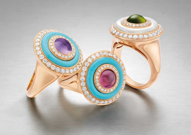 bulgari mini cocktail ring collection