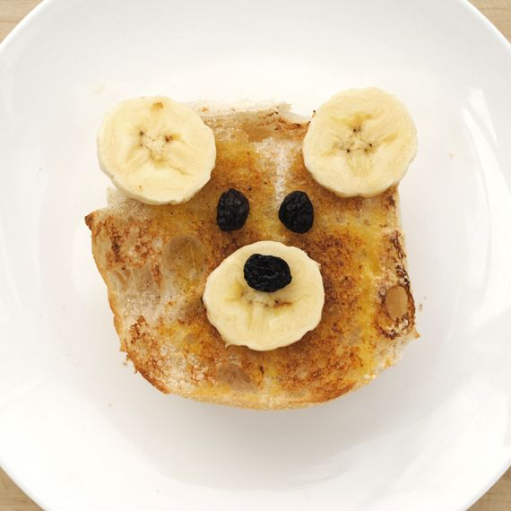 So Cute! Teddy Bear Toast! by minieco: All you need are bread, banana, raisin, butter, sugar and cinnamon. Yum! Thanks to @jen Murnaghan! #Kids #Teddy_Bear #Toast   Butter  Sugar  Cinnamon