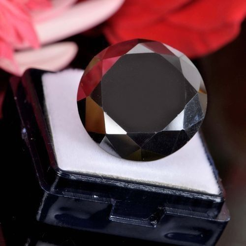 3-25-ct-Nice-Round-Brilliant-Cut-Loose-Moissanite-Black-Diamond
