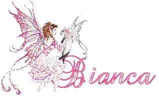 Naamanimaties en naamplaatjes van Bianca