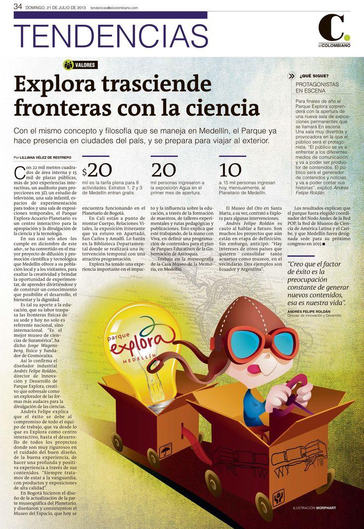 Ilustración creada para periódico El Colombiano @Perfil Btl Colombiano