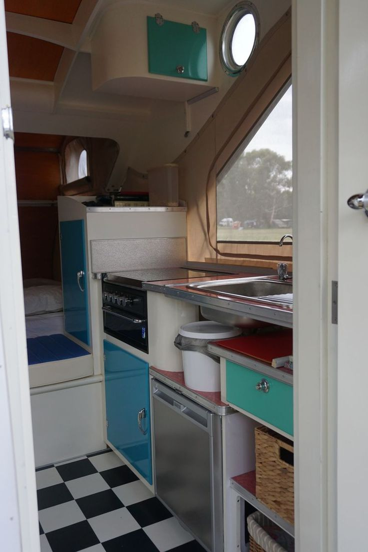Camper Trailer Kitchen Designs 17 Best Images About Teardrops On Pinterest Diy Teardrop Trailer