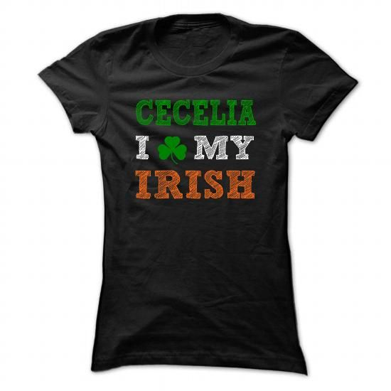 CECELIA STPATRICK DAY - 0399 Cool Name Shirt ! - #gifts #gift card. GET => https://www.sunfrog.com/LifeStyle/CECELIA-STPATRICK-DAY--0399-Cool-Name-Shirt-.html?id=60505
