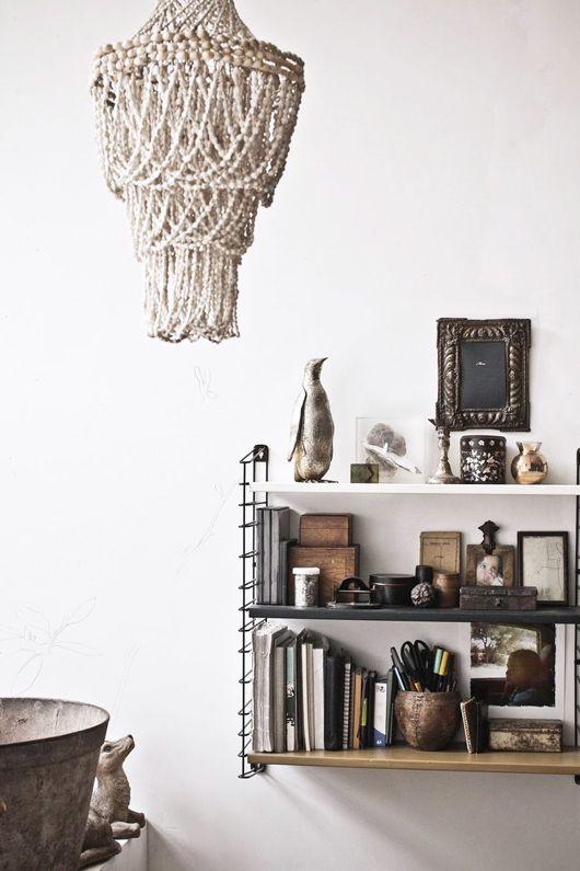 The amazing home of interior designer Muriel Bardinet in Bruxelles.
