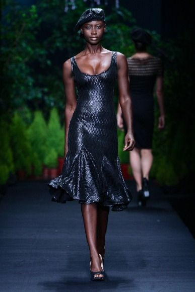 MBFW AFRICA 2013 - Thula Sindi Collection. Credit: SDR Photo