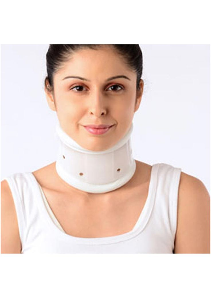 The soft cervical collar is constructed of foam rubber and covered with a stockinette material. Normally, the closure is achieved with Velcro. Depending on the patient's pathology and body structure, your physician and/or orthotist will determine the proper height of the collar. Vissco New Firm Cervical Collar Adjustable Height Suffer from moderate to severe cervical pain? This Cervical Collar will help ensure feel relief from pain as soon as possible as it provides warmth