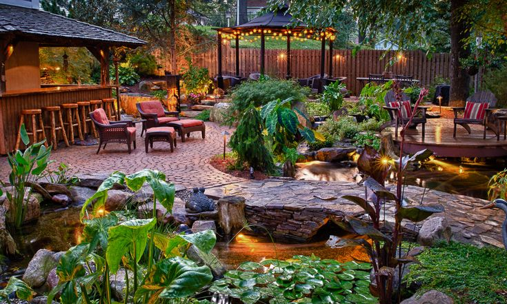 Tropical Paradise Backyard Google Search Tiki Pirate