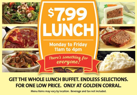 ***STARTING THIS MONDAY, SEPTEMBER 29th*** Golden Corral Coupons http://www.pinterest.com/TakeCouponss/golden-corral-coupons/