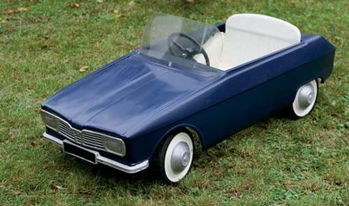 Vintage Pedal Cars - My Dads Toys