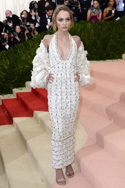 Lily Rose Depp in Chanel - Met Ball 2016