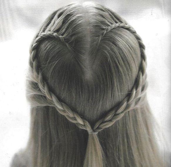 Entzuckende Diy Frisur Fur Blumen Madchen Frisur