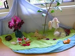 Image result for waldorf nature table