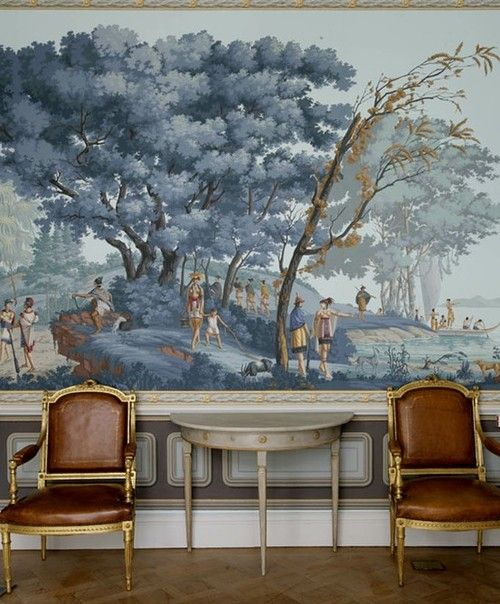 Fantasie Chinoiserie Wall Painting Part 54