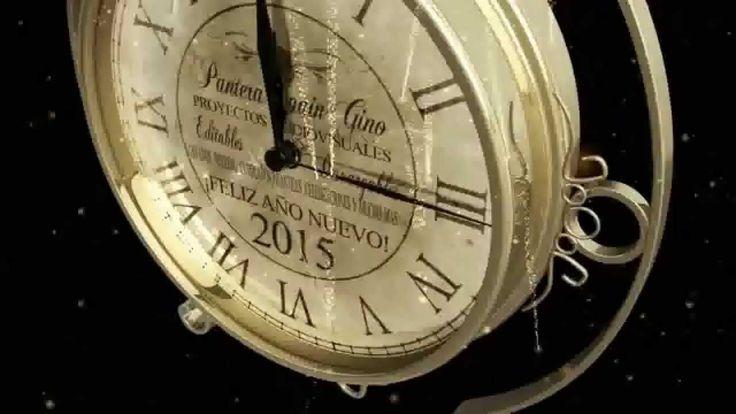 Mucha salud y suerte para todos. Feliz Año Nuevo...!  Template free A.E.CS4 ╬ RELOJ CUENTA ATRÁS AÑO NUEVO 2015 by Pantera Spa...