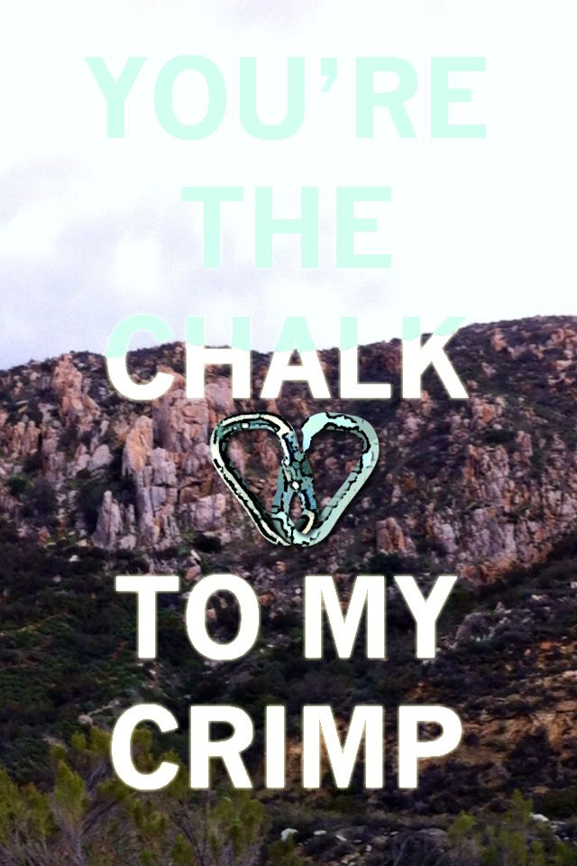 A Valentine for your fellow boyfriendly climber <3