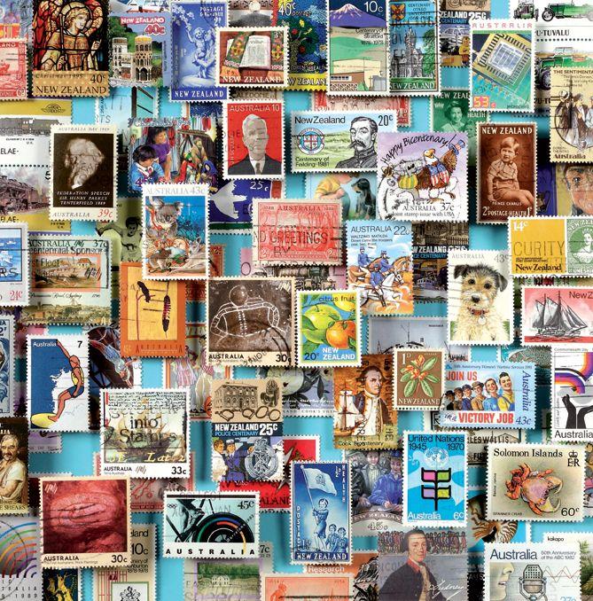1000 francobolli delle terre lontane Oceania