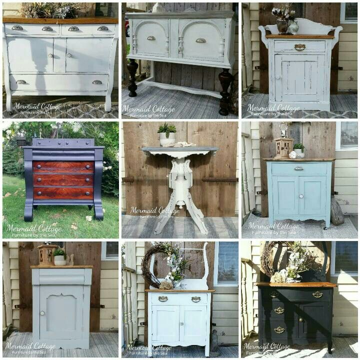 Refinished Antique And Vintage Furniture By Mermaid Cottage
