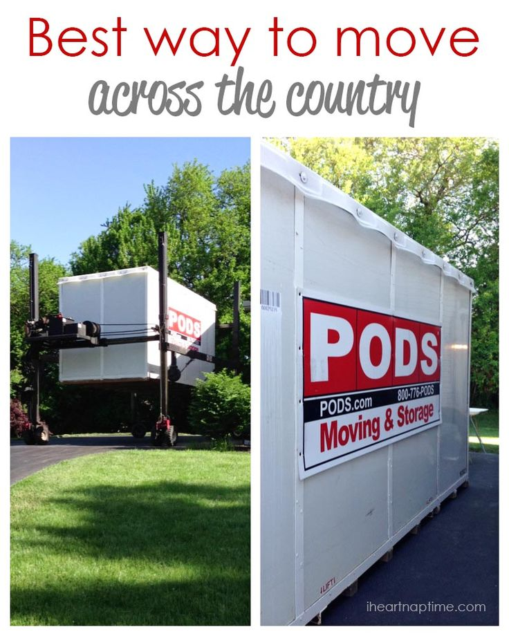 Best moving pod options