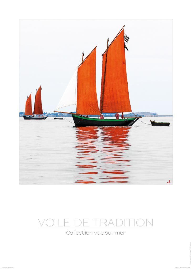 Poster photo Vieux gréements - Bretagne Philip Plisson