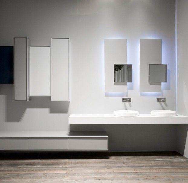 sistemi: planeta antonio lupi - mensola lavabi e cassettone ... - Sirt Arredo Bagno Torino