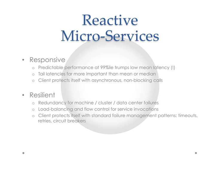Concurrency at Large-Scale: The Evolution to Reactive Microservices