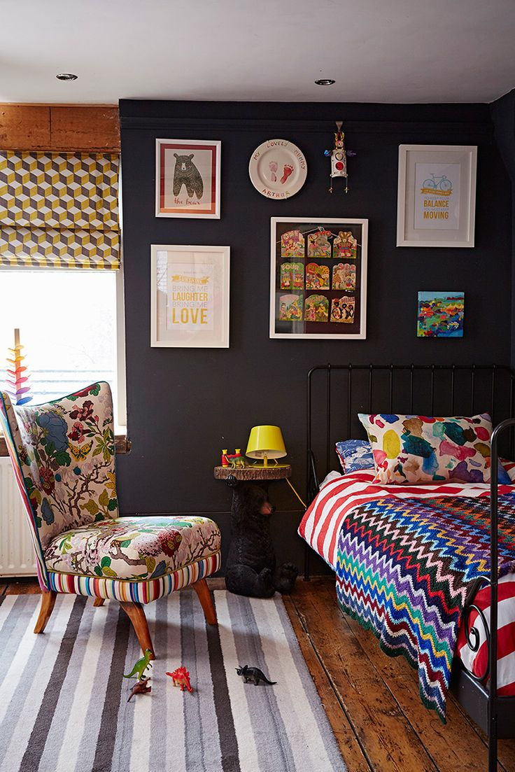 Inside TV Presenter Sophie Robinsons Colourful Home